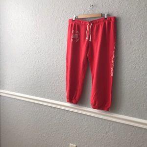 New Nike capris sweat pants Size extra large
